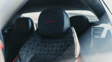 Bentley Continental GT Speed front seats