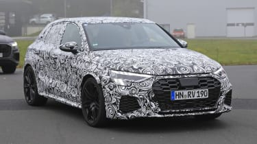 2021 Audi RS3 spotted for the first time