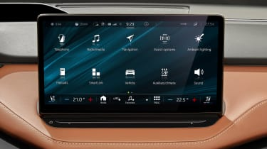 2021 Skoda Enyaq iV - infotainment screen