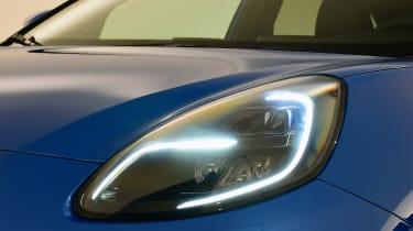 2020 Ford Puma - headlight close-up