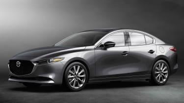 2019 Mazda3 saloon front