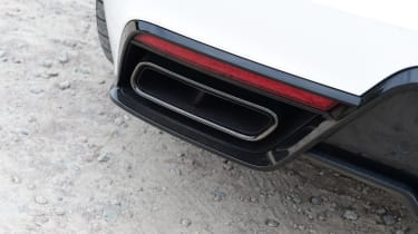 Polestar 1 coupe exhaust