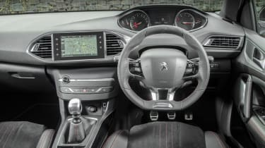 Large 9.7-inch touchscreen controls many of the car's functions; dashboard is vastly improved