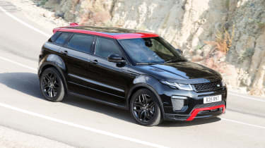It's based on the Range Rover Evoque HSE Dynamic model