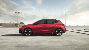 2021 SEAT Ibiza FR Desire Red - side