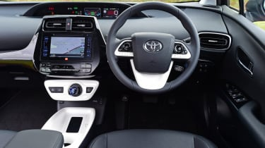 The Prius is well-equipped, but it's a shame the infotainment system can be quite fiddly to use
