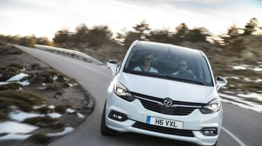 As it's based on the Insigna, the Zafira Tourer handles well for a large MPV