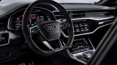 Audi RS7 steering wheel