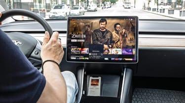 Tesla Model Y SUV interior