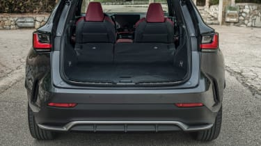 Lexus NX SUV boot seats folded