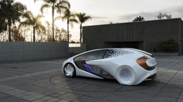 The Concept-i features the latest self-driving tech, and has been designed to build a relationship between man & machine
