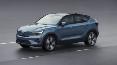 2021 Volvo C40 Recharge - front 3/4 moving