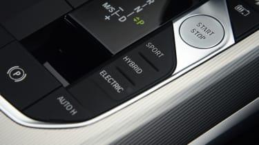 BMW 330e saloon centre console