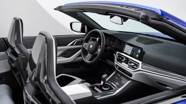 2021 BMW M4 Competition Convertible M xDrive - interior