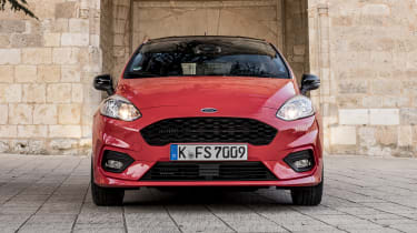 The front grille has become more prominent, and the overall design is tidier