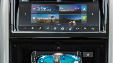 Powerful Meridian sound systems feature in higher trim levels