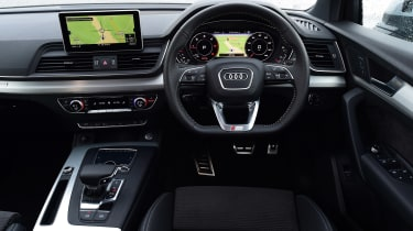 Audi Q5 S line dashboard