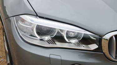 BMW's iconic headlights and kidney grille ensure the X5 is instantly recognisable in the line-up