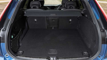 Volvo XC60 SUV boot seats up