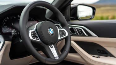 BMW 4 Series Convertible steering wheel