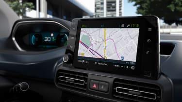 Peugeot e-Rifter sat nav