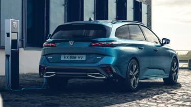 2021 Peugeot 308 SW estate - rear 3/4 static