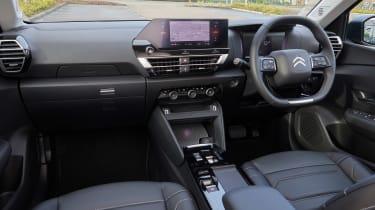Citroen e-C4 hatchback dashboard