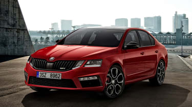 Octavia vRS 245 develops 242bhp