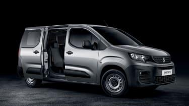 2018 Peugeot Partner van crew cab side