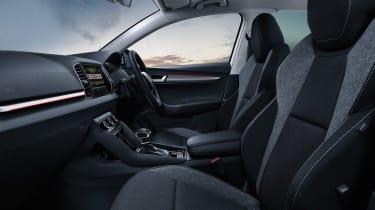 Skoda Karoq SE Drive interior