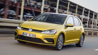 The Volkswagen Golf is a great all-rounder that is still understandably popular with families.
