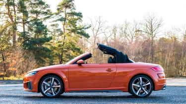 audi tt roadster convertible folding roof