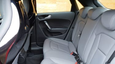 Although it's easier to get in the back of the Sportback than the three-door, space is still a bit tight