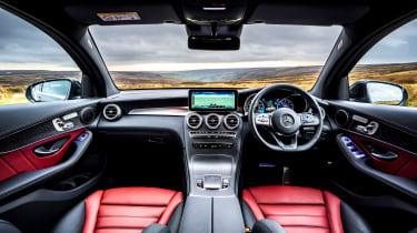 Mercedes GLC Coupe SUV interior