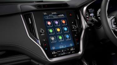 Subaru Outback estate infotainment touchscreen