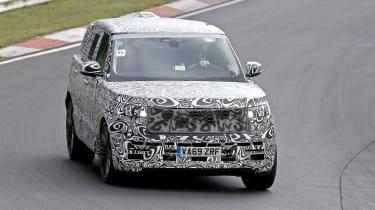 2022 Range Rover - front 3/4 cornering