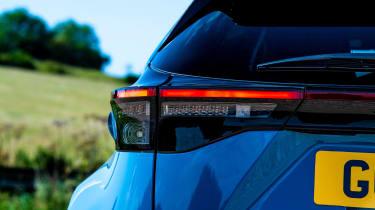 Toyota Yaris Cross rear lights