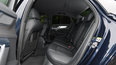 Audi A6 saloon rear seats