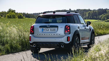 2020 MINI Countryman John Cooper Works rear view