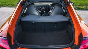 Audi TT Coupe boot