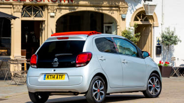 The C1 was awarded four out of five stars for crash safety by Euro NCAP