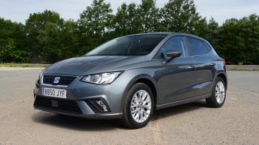 On the move, the Ibiza feels like a car from the class above, with a smooth ride and quiet interior