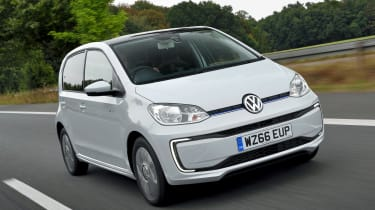 With a price tag of more than £25,000, the VW e-up! is around £15,000 more than the entry-level car