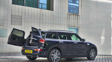 2019 MINI Clubman - rear quarter doors open