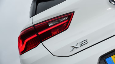 BMW X2 SUV badge