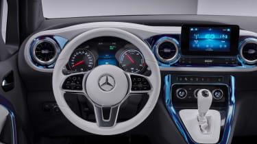 Mercedes Concept EQT - driver controls