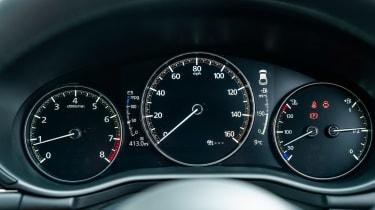 Mazda3 hatchback instruments