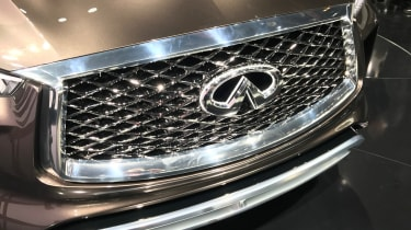 The distinctive Infiniti grille is becoming more familiar on Britain's roads