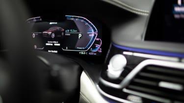 BMW 745e hybrid saloon instruments
