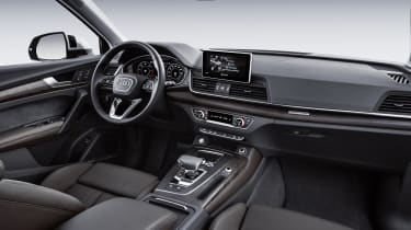 And it'll also be available with the latest version of Audi's MMI infotainment system